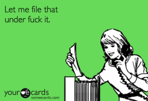 file that